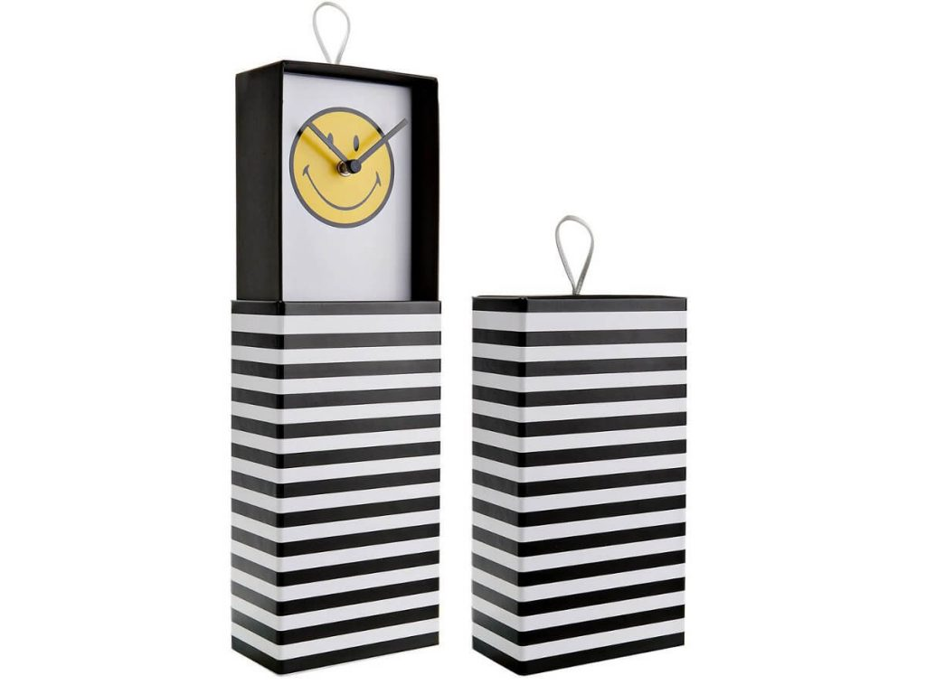 Clock in a box - 06 - Smiley