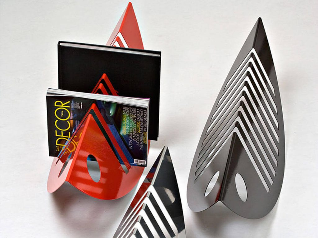 Zuzù BIG magazine rack by Creativando