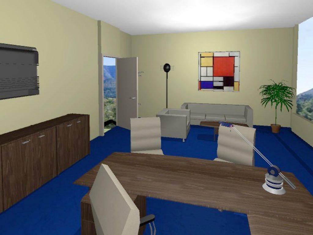 OAZA Call & Contact Center - 3D model